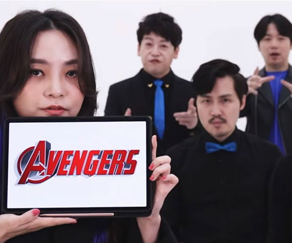 Avengers A Cappella