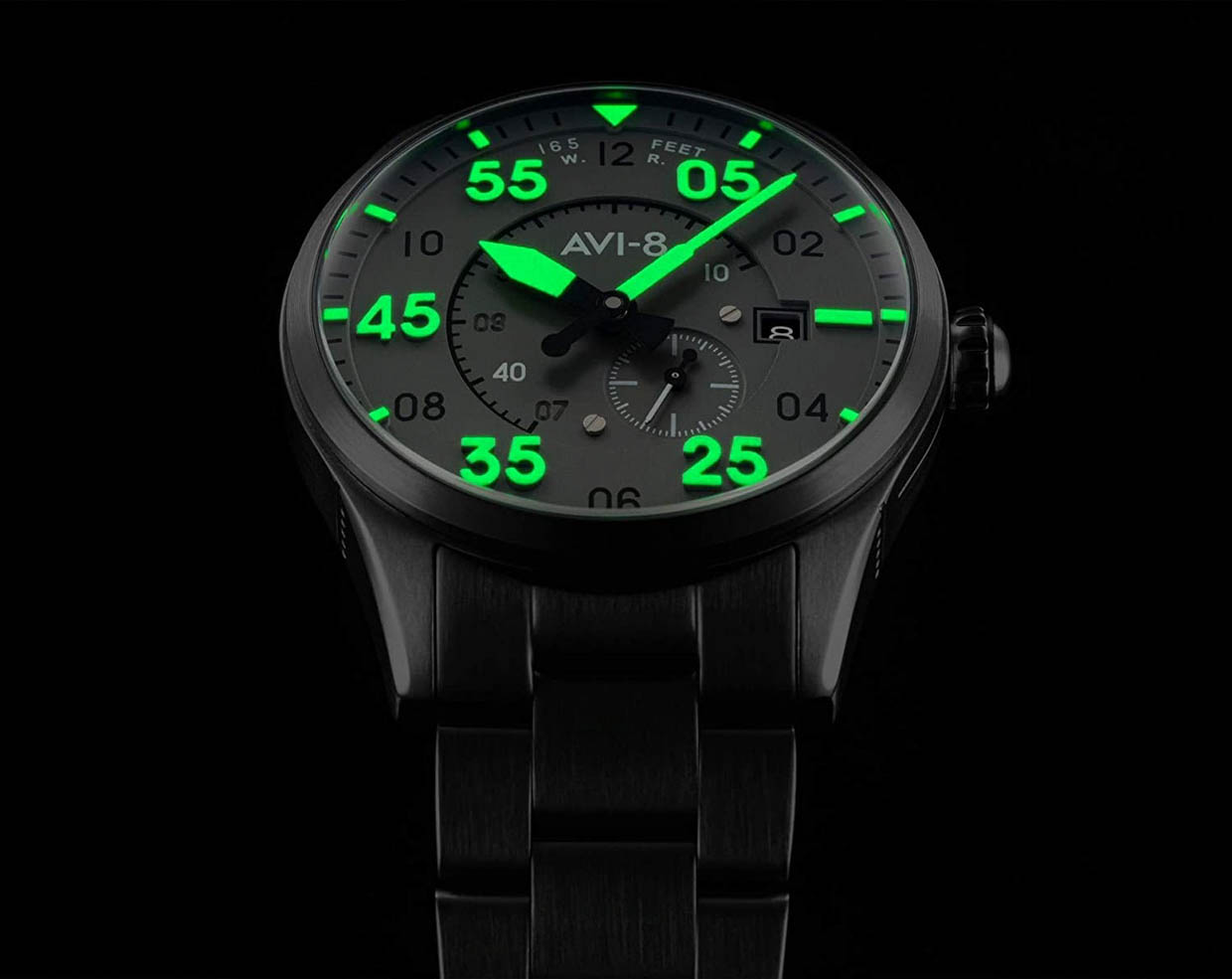 AVI-8 Spitfire Type 300 Watches