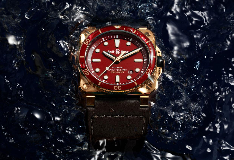Bell & Ross BR 03-92 Diver Red Bronze Watch