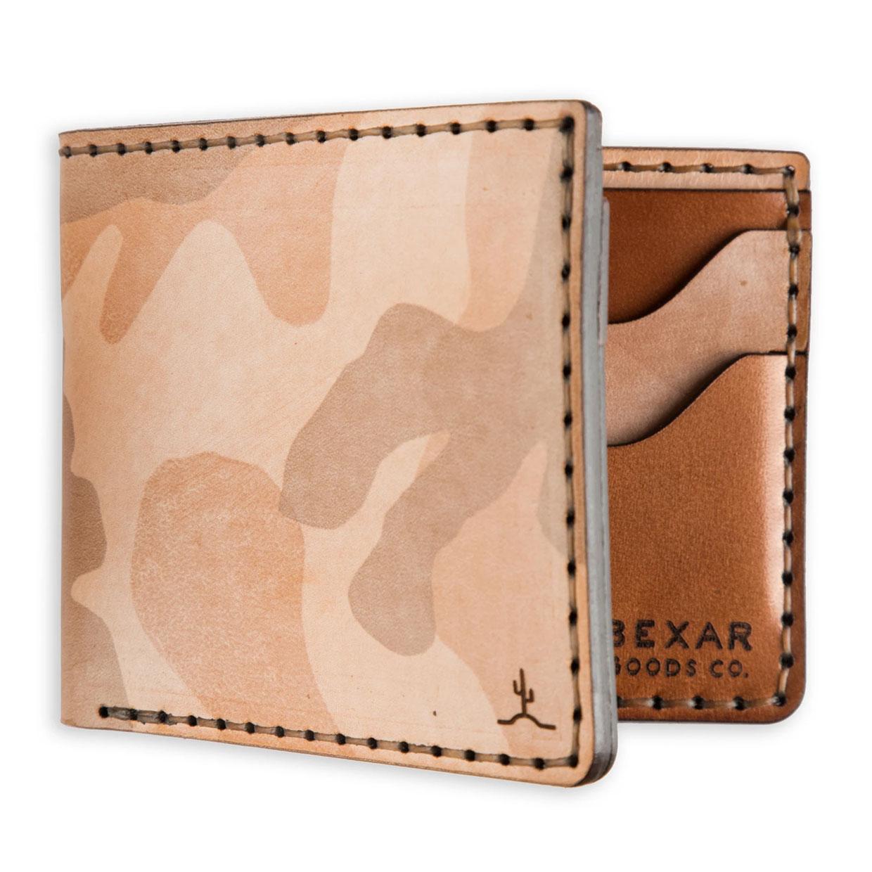 Bexar Ghost Sand Camo Wallets