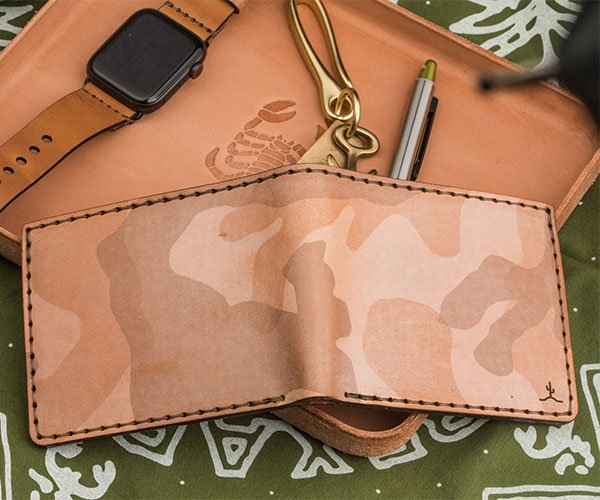 Bexar Ghost Sand Camo Wallets