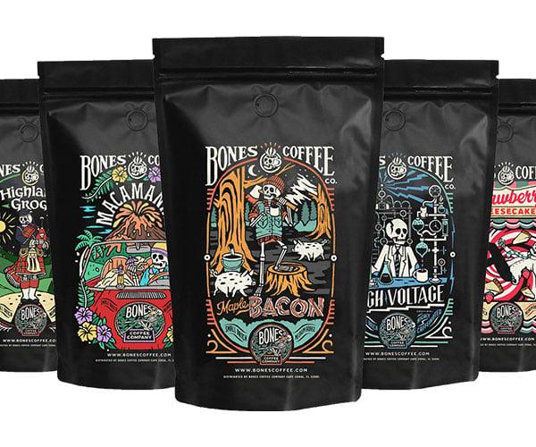 Bones Coffee Company Flavored Coffees