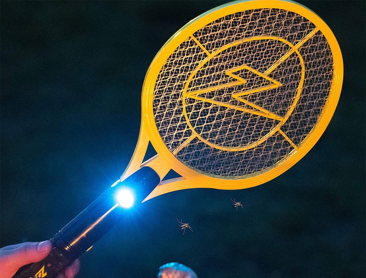ZAP IT! Electric Bug Zapping Rackets