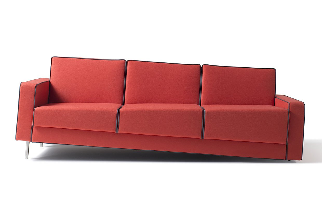 Optical Illusion Sofa