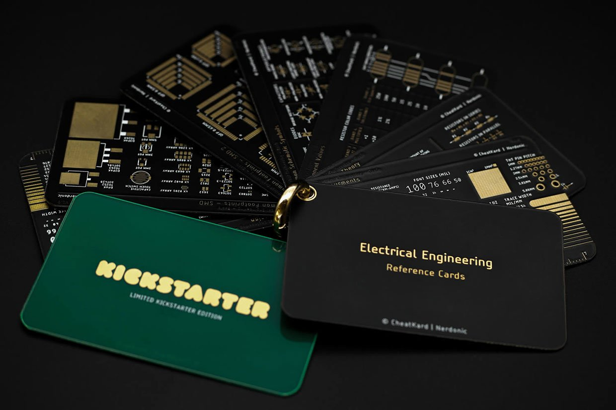 CheatKard Electrical Engineering Reference Cards