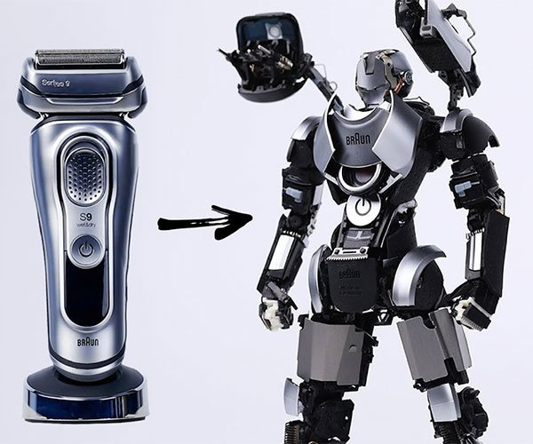 Electric Shaver War Machine