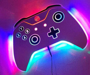 Game Controller Wall Light
