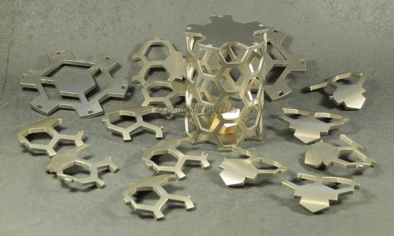 Hexahog Metal Puzzle