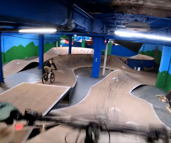 The Longest Indoor MTB Trail