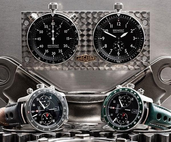 Jaguar x Bremont Watches + Rally Clock