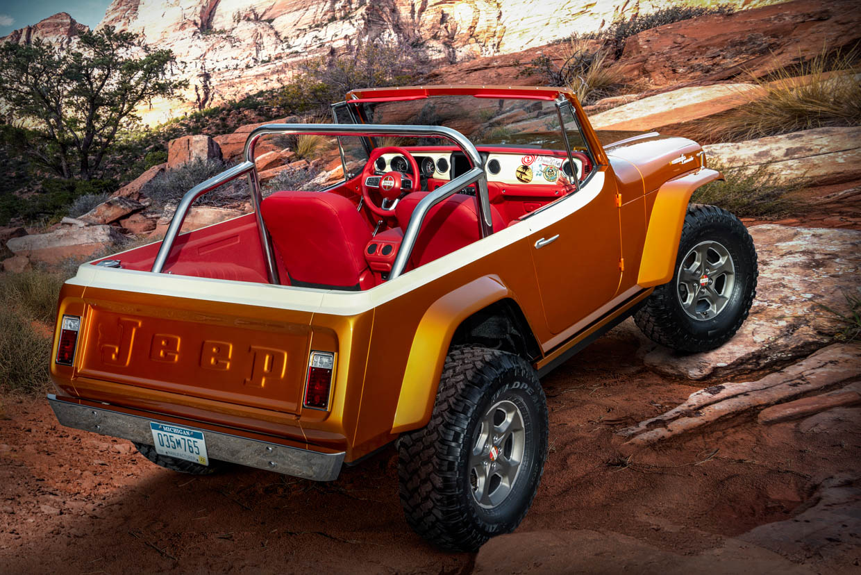 Jeepster Beach Concept
