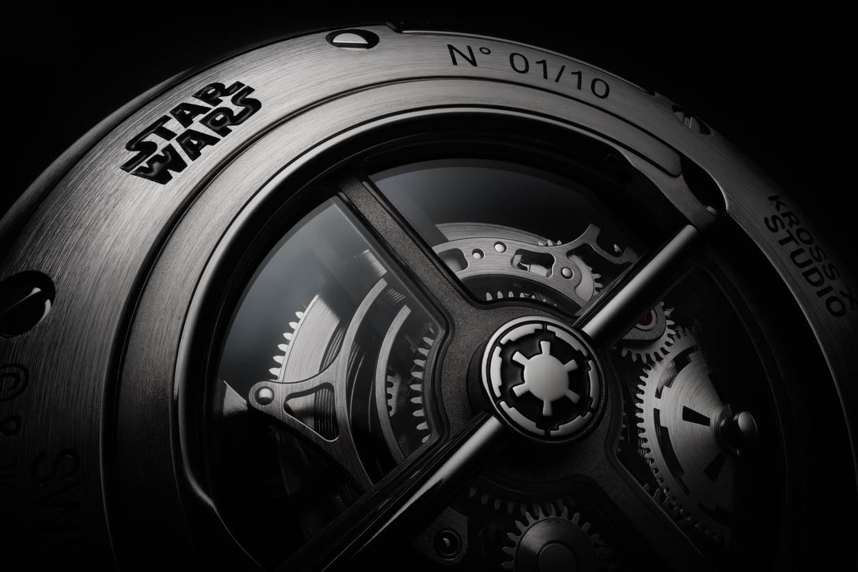 Star Wars x Kross Studio Death Star Tourbillon