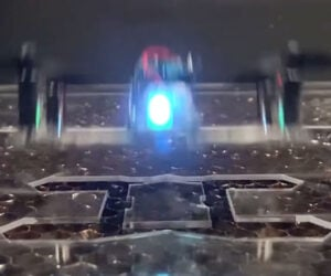 Laser Fabricates a Drone