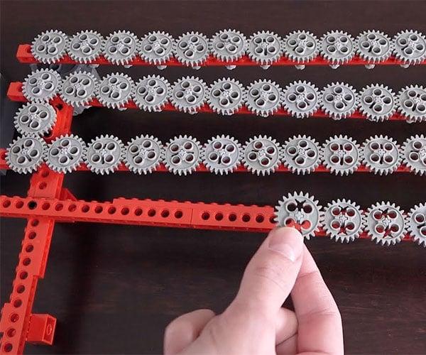 LEGO 1×1 Gear Chain