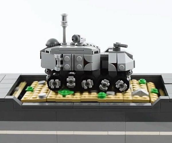 Mechanical LEGO Turbo Tank