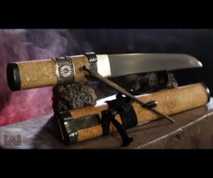 Making a Japanese Tanto Sword