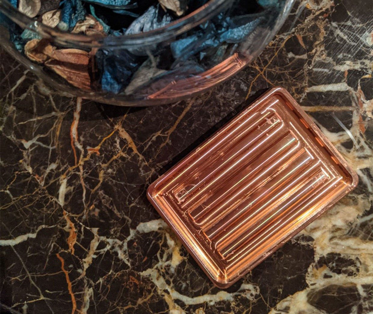 Machined Metal Soap Dishes