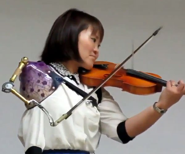 Playing the Violin with One Arm