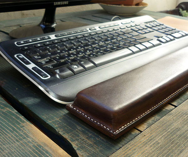 OUSI Leather Keyboard Wrist Rest