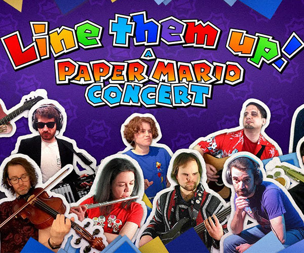Line Them Up! A Paper Mario: The Origami King Concert