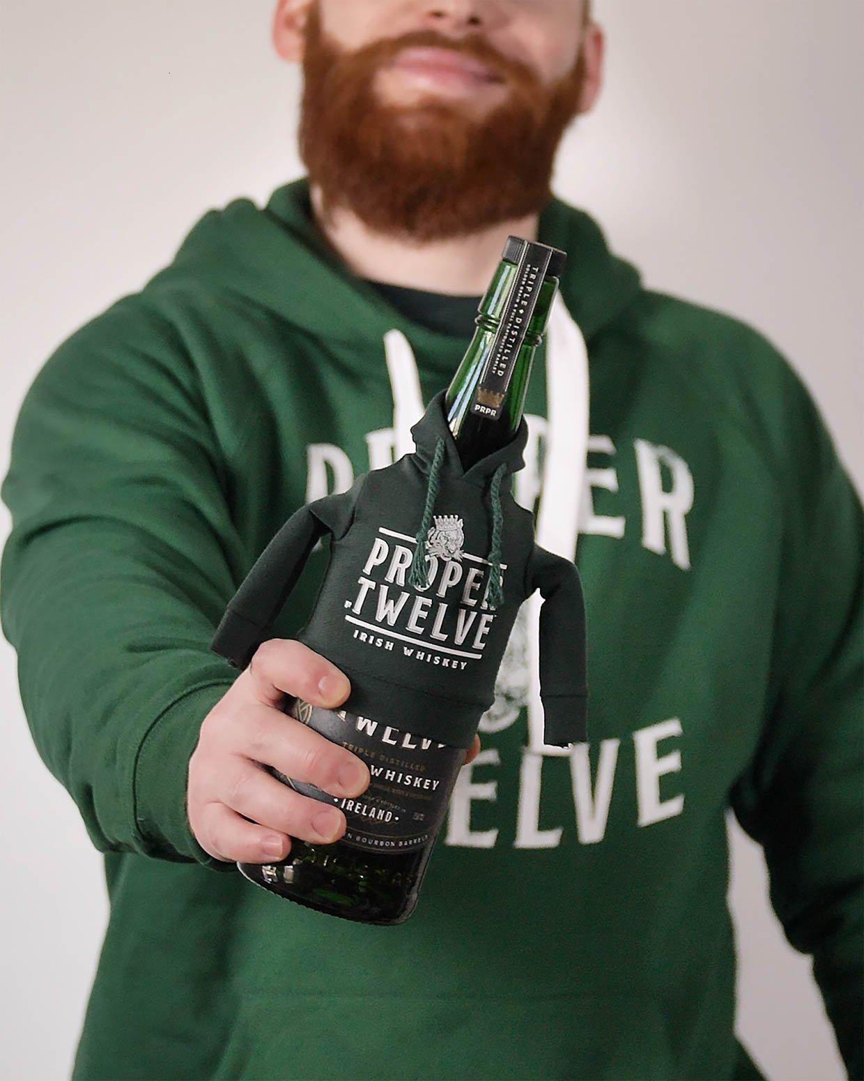 Proper Twelve Human & Bottle Matching Hoodies