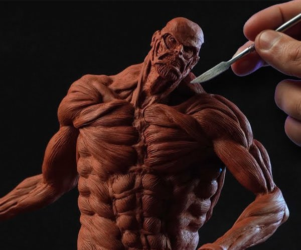 Sculpting the Colossal Titan