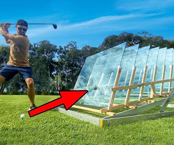 Golf Balls vs. Doors and Windows