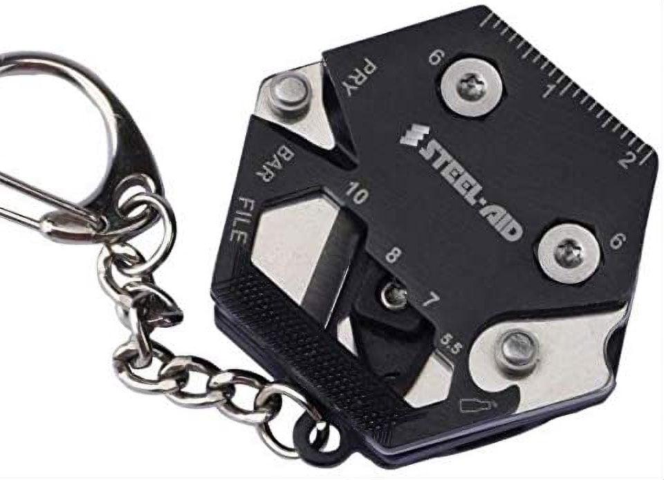 SteelAid Keychain Multitool