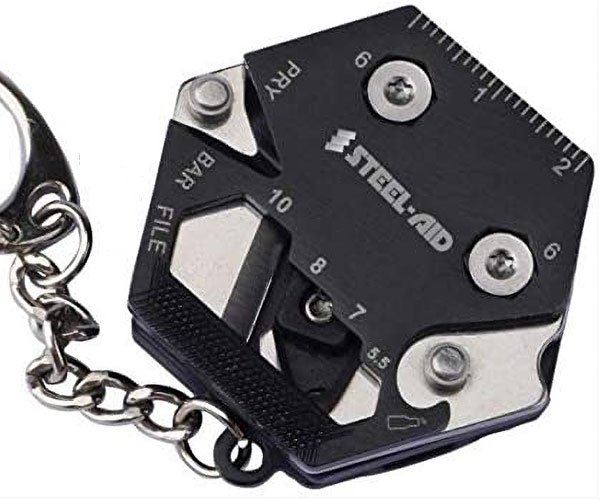 SteelAid Keychain Multitool