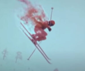 The Mystery of the Flaming Skier
