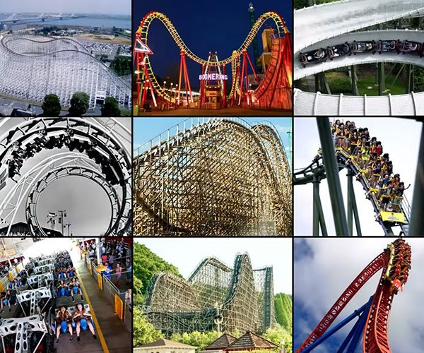 The Types of Roller Coasters