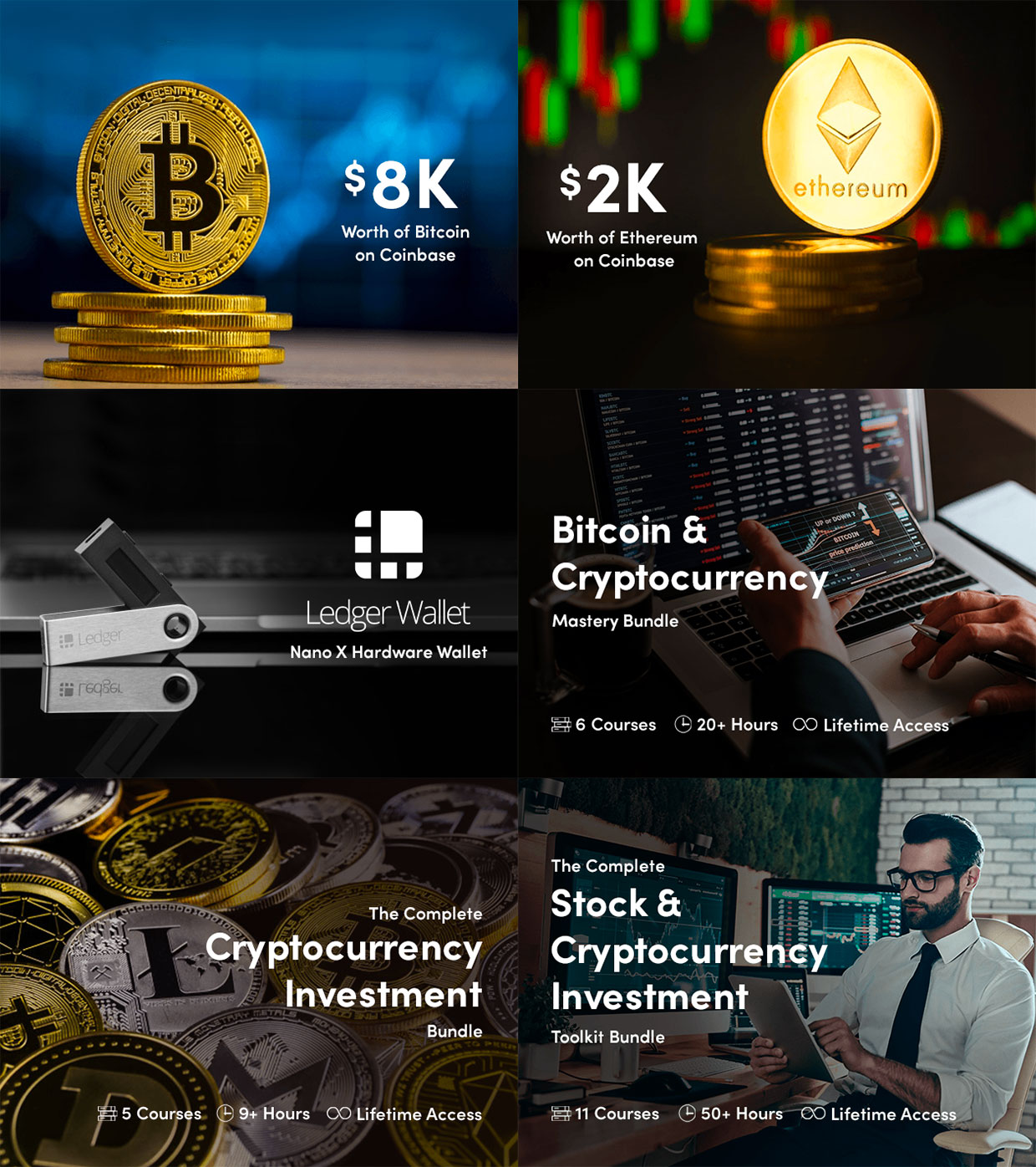 Win Bitcoin and Ethereum