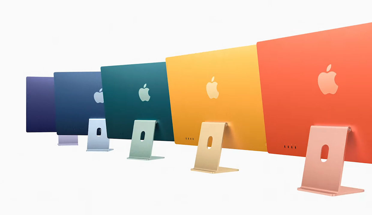 2021 Apple iMac Comes in Colors, Gets M1 Chip