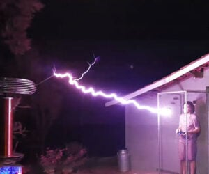 Around the World on Tesla Coils