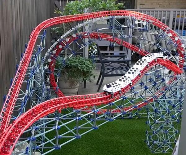 K'nex Magnum Backyard Roller Coaster