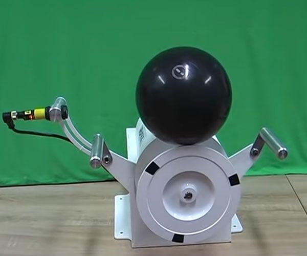 Bowling Ball Balancing Machine