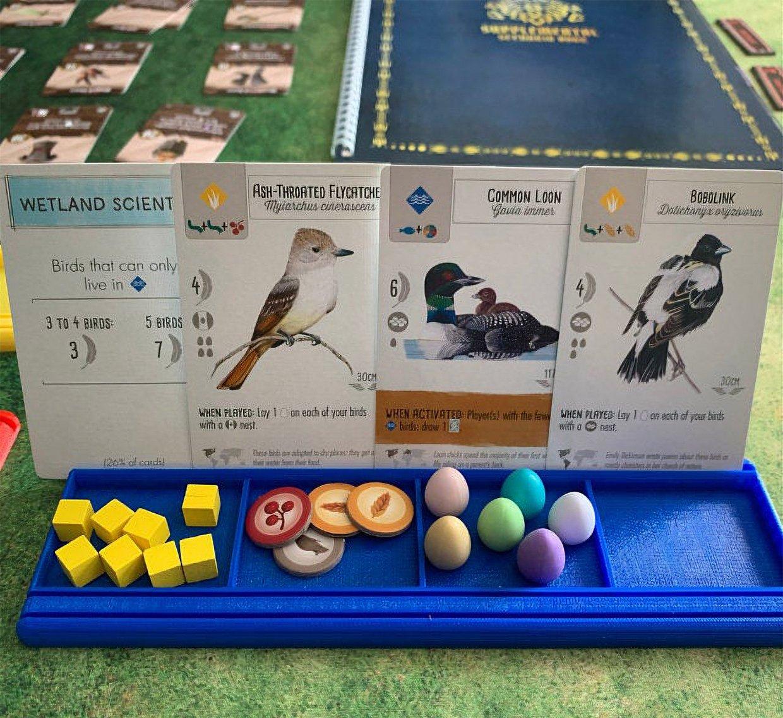 Game Card + Token Trays