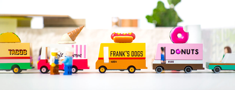 Candylab Food Truck Toys