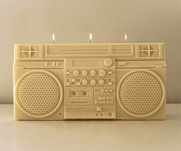 CENT.LDN Boombox Candle