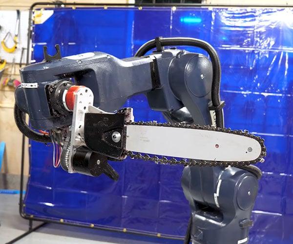 Chainsaw Robot