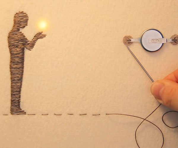 Sewing with Electricity