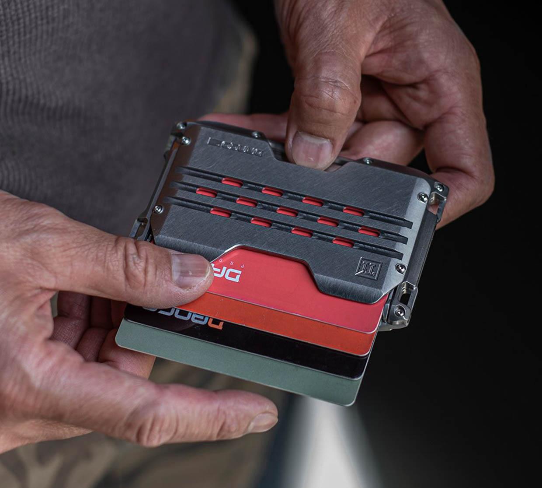 Dango A10 Adapt Titanium Wallets