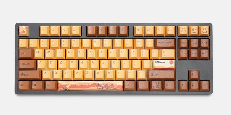 Desert Journey Keycap Set
