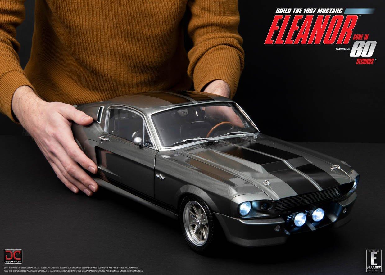 Die-Cast Eleanor Mustang
