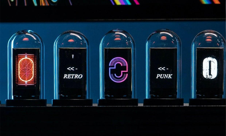 EleksTube IPS Glow Tube LED Clock