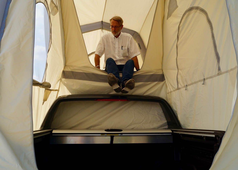 GentleTent GT Pickup Inflatable Rooftop Tent