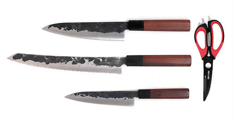 Handmade Japanese Style Knife Set