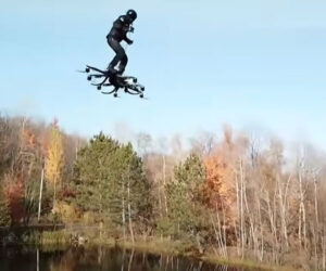 Hoverboard Drone