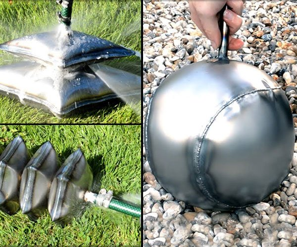 Metal Hydroforming Experiments