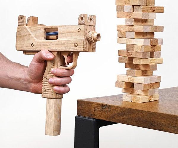 The Jenga Gun